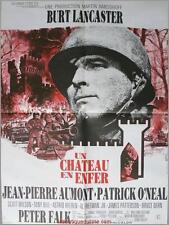 UN CHATEAU EN ENFER Castle Keep Affiche Cinéma / Movie Poster Sydney Pollack