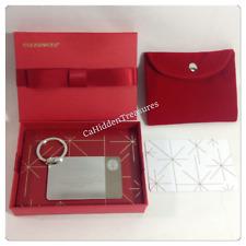 Starbucks 2014 1st Limited Edition .925 Sterling Silver Card Keychain $0 Bonus