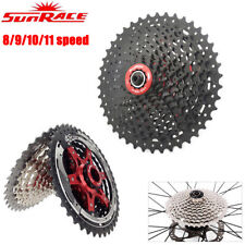 SunRace 8/9/10/11Speed MTB Bike Cassette fit Shimano SRAM Mountain Flywheel