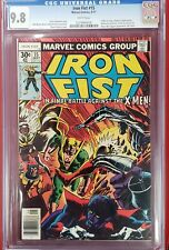 Iron fist #15 cgc 9.8 xmen White Pages ironfist x-men