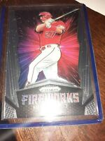 2019 Panini Prizm Fireworks MIKE TROUT  #F1 Los Angeles Angels MINT CONDITION