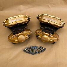 03 09 Nissan 350z 03 07 G35 Brembo Big Brake Calipers Complete Set Oem