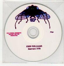 (FF163) John Williams, Interview 1978 - DJ CD