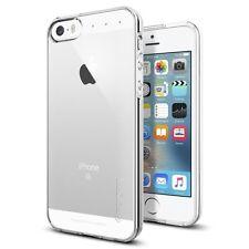 Apple iPhone 5 5S 5SE Slim & Soft Liquid Armor Case ~ Tempered Glass Protector
