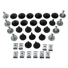 38x Tray Guard Engine Under Cover Fixing Clips Screw Set For Audi A3/VW Golf MK5