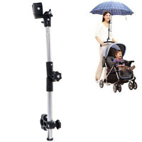Stroller Umbrella Holder Adjustable Cart Parasol Shelf Bike Umbrella Brac JR