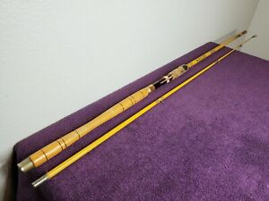 Vintage Eagle Claw Wright &Mcgill Champion 8ft Trolling Rod MTR8 (2 pc Rod)