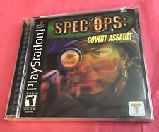 SPEC OPS Covert Assault PS1, Playstation 1 -& PS3, PS2 -3Pics -Sealed -NEW