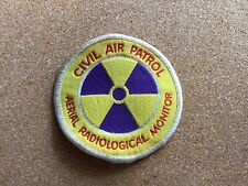 Rare Civil Air Patrol Patch Aerial Radiological Monitor Nuclear War Cold Not Ww2