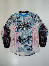 Answer Long Sleeve Jersey Biking Moto California Size Small funky all over print