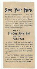 1898 Birmingham Alabama advertising leaflet A C Reckling Saddle & Harness Maker