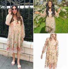 H&M Women's Long Sleeve Boho Dresses