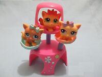 Littlest Pet Shop Triplets Kitten Cat Lot 1335 1336 1337 Complete Exclusive