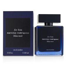 For Him Narciso Rodriguez Bleu Noir 3.3 Oz 100ml Eau de Parfum EDP Spray Men