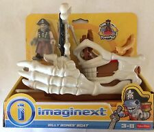 NIB Fisher-Price Imaginext Pirate Billy Bones Boat
