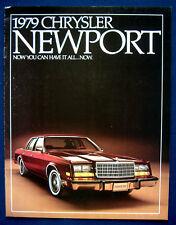 Prospekt brochure 1979 Chrysler Newport  (USA)