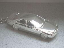 Schlüsselanhänger Mercedes S Klasse W220 versilbert (5258)