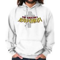 Amazing Jesus Christ Christian Shirt Spiderman Religious Gift Hoodie