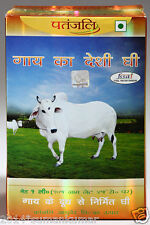 100 % Pure Patanjali  Cow Ghee made from cow milk 1 lt