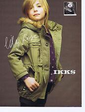 PUBLICITE ADVERTISING 094 2010 IKKS vêtements pour enfants avec Lilyrose