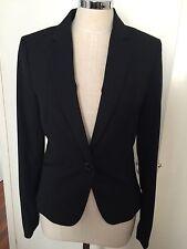 H&M  black Blazer business Jacket women size aus6