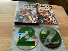 Dot Hack .Hack // Mutation PlayStation 2 PS2 System Complete Game & Anime DVD