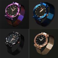Luxury Women Starry Sky Watch Magnet Strap Buckle Fashion Star Watch Lover Gifts