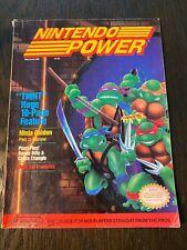 Nintendo Power Volume 6, May/June 1989, TMNT [No Poster]