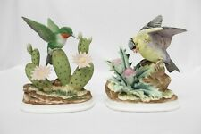 Vintage Andrea By Sadek 7703 Set of 2 Bird Figurines