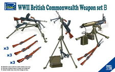 Riich Models 1/35 WWII British Commonwealth Weapons Set B