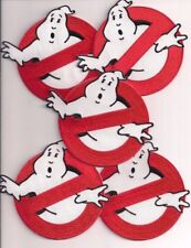 """Ghostbusters No Ghosts Logo Screen Accurate 4"""" Patch Set Of Five (5)"""