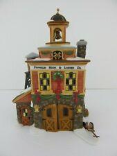 Dept 56 New England Village Franklin Hook & Ladder Co #56601 Good Condition