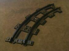 Lego Train, Track Plastic, Narrow, Curve [85976] Black x1