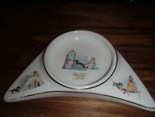 Antique Underwood's High Chair Baby Dish plate