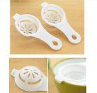 1pc Kitchen Tool Gadget Convenient Egg Yolk White Separator Divider Holder Sieve