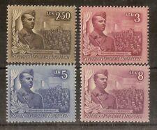 Albania 1951 Congress SG556-559 MNH