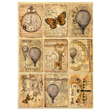 Stamperia Decoupage Mixed Media Postcards Rice Paper A4 - Dfsa4240