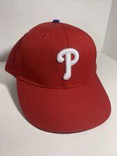 Philadelphia Phillies MLB OC Sports Red Home Baseball Cap Hat Adult NWOT