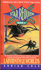 Star Requiem No. 4: Labyrinth of Worlds by Adrian Cole-1st PB Printing-1992