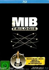 MEN IN BLACK 1-3 TRILOGIE (3 Blu-ray Discs + Alien-Wackelfigur) NEU+OVP