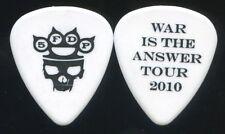 FIVE FINGER DEATH PUNCH 2010 War Tour Guitar Pick!!! custom concert stage #1