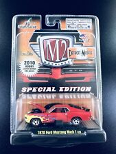 M2 Machines 2010 Hobby LE 1970 Ford Mustang Mach 1 428 1/64 1 Of 492