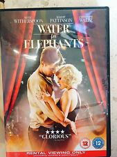 Reese Witherspoon Robert Pattinson WATER FOR ELEPHANTS ~ 2011 Drama | UK DVD