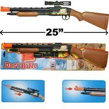 SOFT DART RIFLE SHOTGUN CARBINE TOY PUMP ACTION KID BOY HUNTER GUN GAME