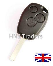 for Renault Clio Modus Laguna Megane 3 Button remote key FOB shell + LOGO A65