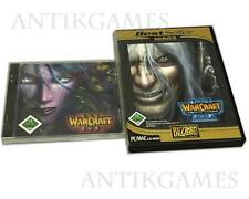 Warcraft 3 III Reign of Chaos + Addon Frozen Throne = Gold ningún alemán de descarga