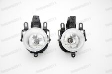 Front Fog Lights Lamps Pair w/bulbs For Mitsubishi Pajero V73 2003-2006