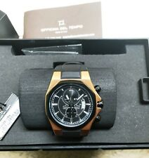 OFFICINA DEL TEMPO Mod. Race OS11 Chrono SS Case pvd Rose Gold - B&P - MINT