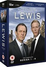 Lewis Series 1, 2, 3, 4, 5, 6, 7 & 8 DVD Box Set R2 New & Sealed