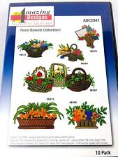 Amazing Designs Embroidery Software Floral Basket Collection 10 Designs